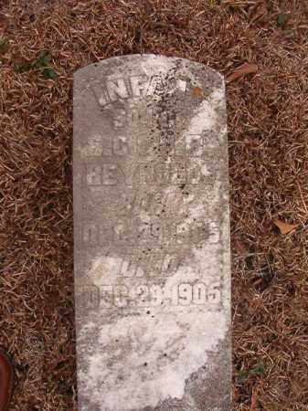 REYNOLDS, INFANT SON - Calhoun County, Arkansas | INFANT SON REYNOLDS - Arkansas Gravestone Photos