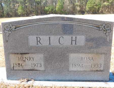 RICH, ROSA - Calhoun County, Arkansas | ROSA RICH - Arkansas Gravestone Photos