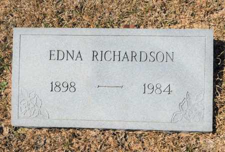 RICHARDSON, EDNA - Calhoun County, Arkansas   EDNA RICHARDSON - Arkansas Gravestone Photos