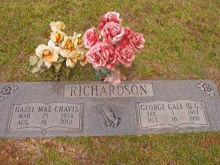 RICHARDSON, GEORGE GALE - Calhoun County, Arkansas | GEORGE GALE RICHARDSON - Arkansas Gravestone Photos