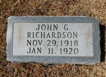 RICHARDSON, JOHN G - Calhoun County, Arkansas | JOHN G RICHARDSON - Arkansas Gravestone Photos