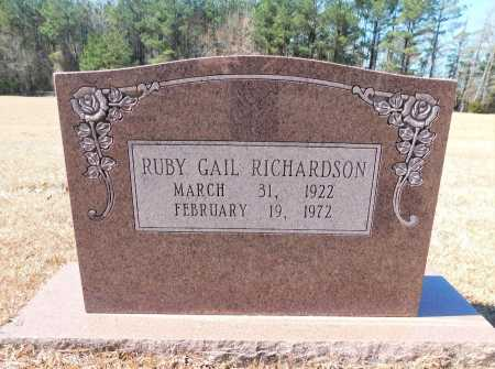 RICHARDSON, RUBY GAIL - Calhoun County, Arkansas | RUBY GAIL RICHARDSON - Arkansas Gravestone Photos