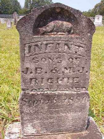 RICHIE, INFANT SONS - Calhoun County, Arkansas | INFANT SONS RICHIE - Arkansas Gravestone Photos