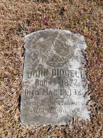 RIDGELL, JOHN - Calhoun County, Arkansas | JOHN RIDGELL - Arkansas Gravestone Photos