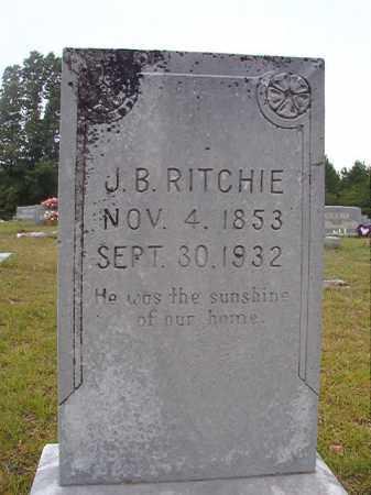 RITCHIE, JOHN B - Calhoun County, Arkansas | JOHN B RITCHIE - Arkansas Gravestone Photos