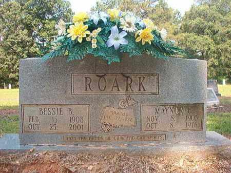 ROARK, MAYNOR E - Calhoun County, Arkansas   MAYNOR E ROARK - Arkansas Gravestone Photos
