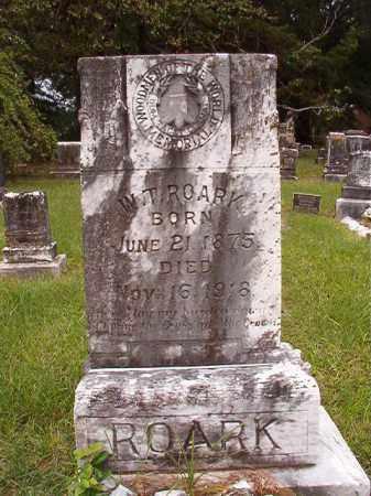 ROARK, W T - Calhoun County, Arkansas | W T ROARK - Arkansas Gravestone Photos