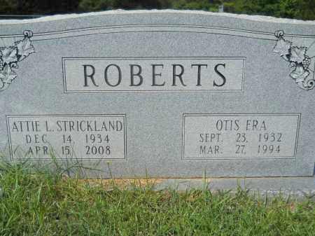 ROBERTS, ATTIE L - Calhoun County, Arkansas | ATTIE L ROBERTS - Arkansas Gravestone Photos
