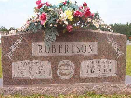 ENNIS ROBERTSON, LOUISE - Calhoun County, Arkansas | LOUISE ENNIS ROBERTSON - Arkansas Gravestone Photos