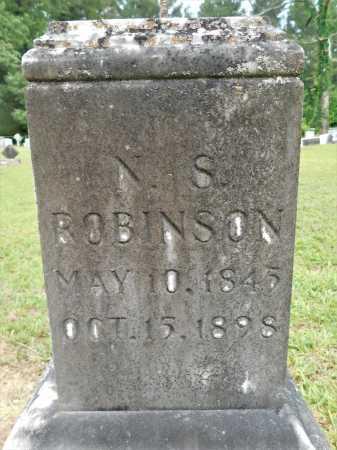 ROBINSON, N S - Calhoun County, Arkansas | N S ROBINSON - Arkansas Gravestone Photos
