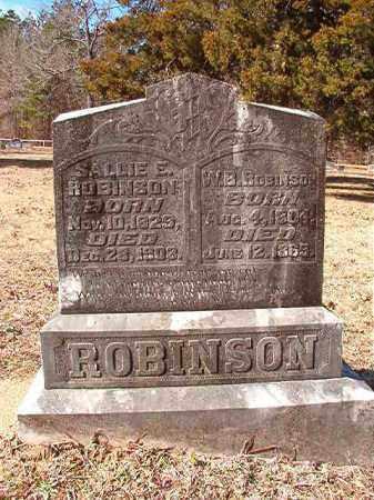 ROBINSON, W B - Calhoun County, Arkansas   W B ROBINSON - Arkansas Gravestone Photos
