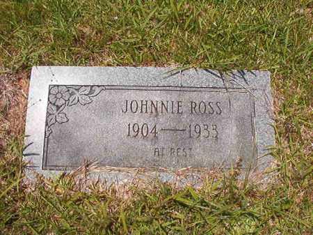 ROSS, JOHNNIE - Calhoun County, Arkansas | JOHNNIE ROSS - Arkansas Gravestone Photos