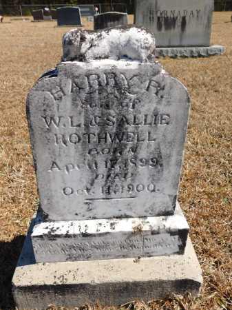 ROTHWELL, HARRY R - Calhoun County, Arkansas   HARRY R ROTHWELL - Arkansas Gravestone Photos