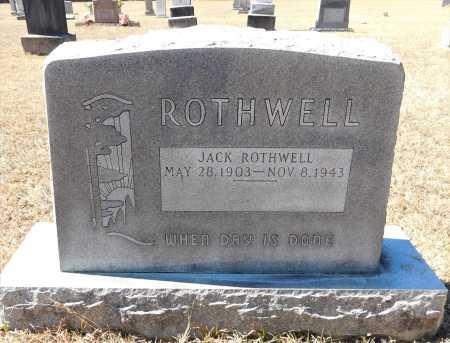 ROTHWELL, JACK - Calhoun County, Arkansas   JACK ROTHWELL - Arkansas Gravestone Photos