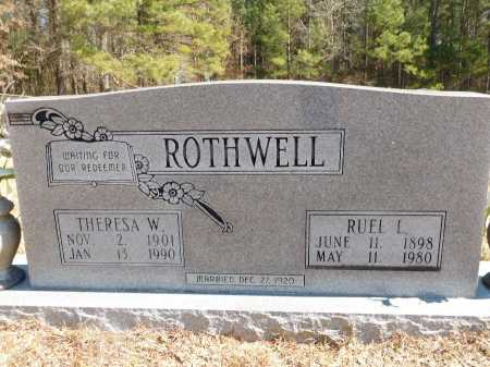 ROTHWELL, RUEL L - Calhoun County, Arkansas | RUEL L ROTHWELL - Arkansas Gravestone Photos