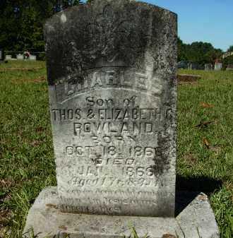 ROWLAND, CHARLES - Calhoun County, Arkansas | CHARLES ROWLAND - Arkansas Gravestone Photos