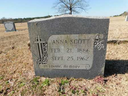 SCOTT, ANNA - Calhoun County, Arkansas | ANNA SCOTT - Arkansas Gravestone Photos