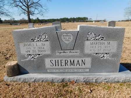 SHERMAN, SR, JAMES L - Calhoun County, Arkansas | JAMES L SHERMAN, SR - Arkansas Gravestone Photos