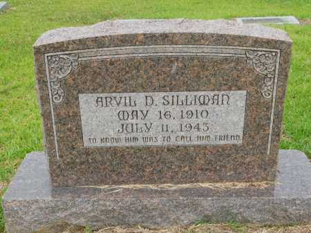 SILLIMAN, ARVIL D - Calhoun County, Arkansas | ARVIL D SILLIMAN - Arkansas Gravestone Photos