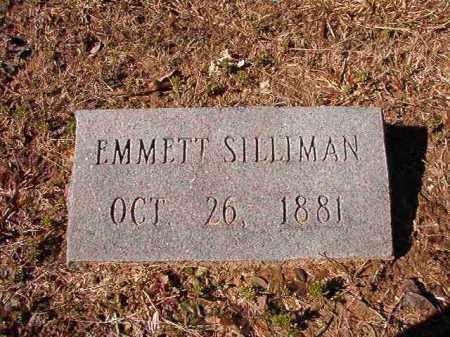 SILLIMAN, EMMETT - Calhoun County, Arkansas | EMMETT SILLIMAN - Arkansas Gravestone Photos