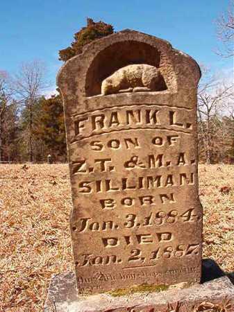 SILLIMAN, FRANK L - Calhoun County, Arkansas   FRANK L SILLIMAN - Arkansas Gravestone Photos
