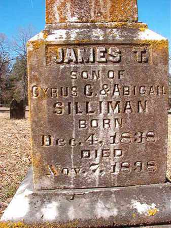 SILLIMAN, JAMES T - Calhoun County, Arkansas   JAMES T SILLIMAN - Arkansas Gravestone Photos