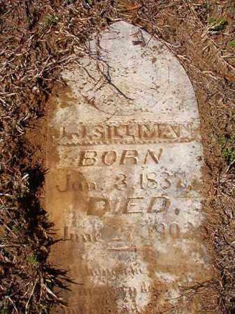 SILLIMAN, J J - Calhoun County, Arkansas | J J SILLIMAN - Arkansas Gravestone Photos