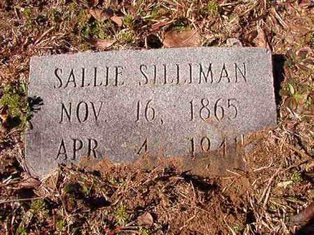 SILLIMAN, SALLIE - Calhoun County, Arkansas   SALLIE SILLIMAN - Arkansas Gravestone Photos