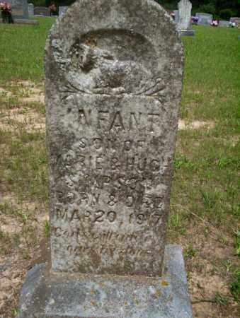 SIMPSON, INFANT SON - Calhoun County, Arkansas | INFANT SON SIMPSON - Arkansas Gravestone Photos