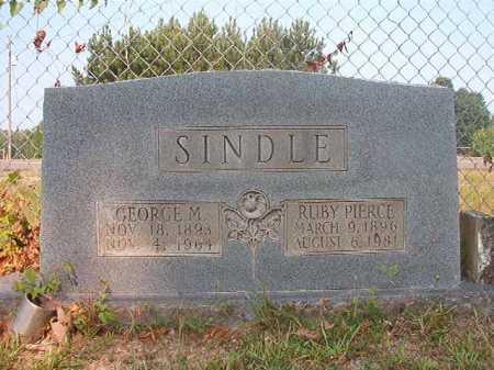 SINDLE, GEORGE M - Calhoun County, Arkansas   GEORGE M SINDLE - Arkansas Gravestone Photos