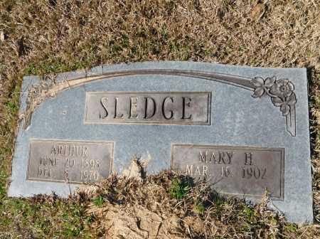 SLEDGE, ARTHUR - Calhoun County, Arkansas | ARTHUR SLEDGE - Arkansas Gravestone Photos