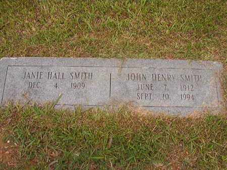 SMITH, JOHN HENRY - Calhoun County, Arkansas | JOHN HENRY SMITH - Arkansas Gravestone Photos