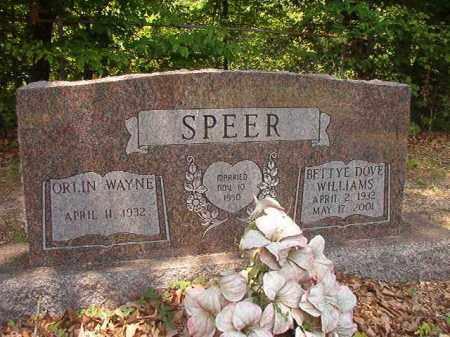 SPEER, BETTYE DOVE - Calhoun County, Arkansas | BETTYE DOVE SPEER - Arkansas Gravestone Photos