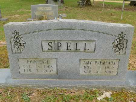 SPELL, JOHN EARL - Calhoun County, Arkansas   JOHN EARL SPELL - Arkansas Gravestone Photos