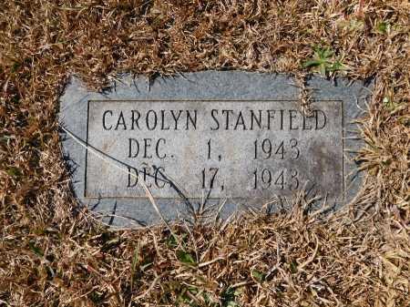 STANFIELD, CAROLYN - Calhoun County, Arkansas | CAROLYN STANFIELD - Arkansas Gravestone Photos