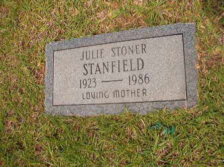 STANDFIELD, JULIE - Calhoun County, Arkansas | JULIE STANDFIELD - Arkansas Gravestone Photos
