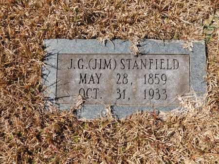 STANFIELD, J G (JIM) - Calhoun County, Arkansas   J G (JIM) STANFIELD - Arkansas Gravestone Photos