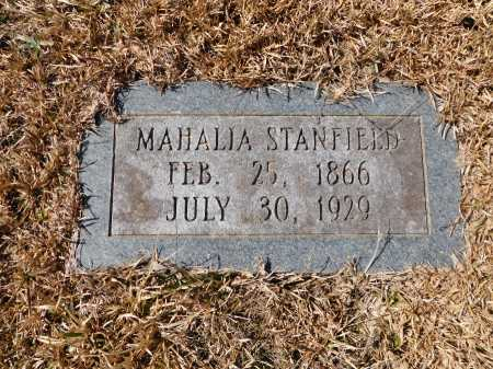 STANFIELD, MAHALIA - Calhoun County, Arkansas | MAHALIA STANFIELD - Arkansas Gravestone Photos