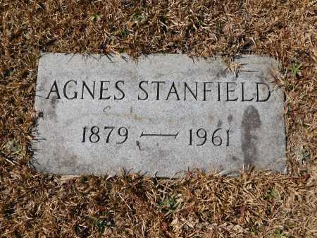 STANFIELD, AGNES - Calhoun County, Arkansas | AGNES STANFIELD - Arkansas Gravestone Photos