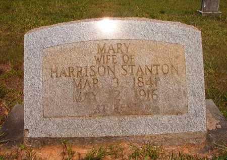 STANTON, MARY - Calhoun County, Arkansas | MARY STANTON - Arkansas Gravestone Photos