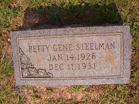 STEELMAN, BETTY GENE - Calhoun County, Arkansas | BETTY GENE STEELMAN - Arkansas Gravestone Photos
