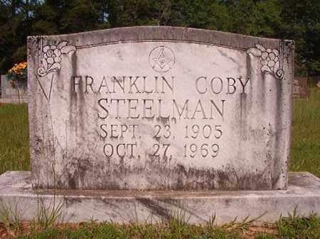 STEELMAN, FRANKLIN COBY - Calhoun County, Arkansas | FRANKLIN COBY STEELMAN - Arkansas Gravestone Photos
