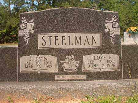 STEELMAN, FLOYE E - Calhoun County, Arkansas | FLOYE E STEELMAN - Arkansas Gravestone Photos