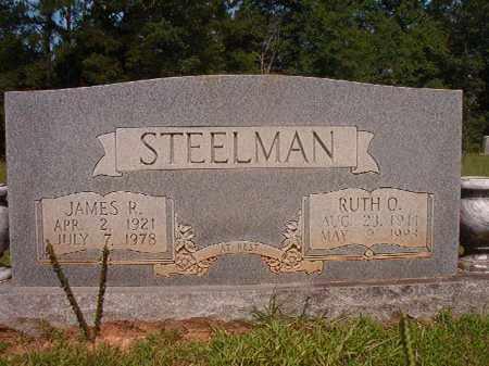 STEELMAN, JAMES R - Calhoun County, Arkansas | JAMES R STEELMAN - Arkansas Gravestone Photos