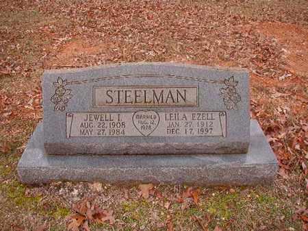 STEELMAN, JEWELL IRVIN - Calhoun County, Arkansas | JEWELL IRVIN STEELMAN - Arkansas Gravestone Photos