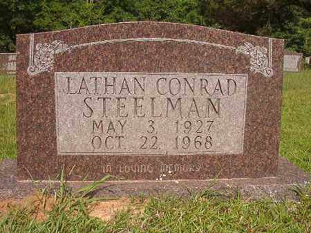STEELMAN, LATHAN CONRAD - Calhoun County, Arkansas   LATHAN CONRAD STEELMAN - Arkansas Gravestone Photos
