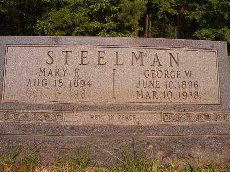STEELMAN, GEORGE WASHINGTON - Calhoun County, Arkansas | GEORGE WASHINGTON STEELMAN - Arkansas Gravestone Photos