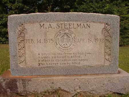 STEELMAN, M A - Calhoun County, Arkansas | M A STEELMAN - Arkansas Gravestone Photos