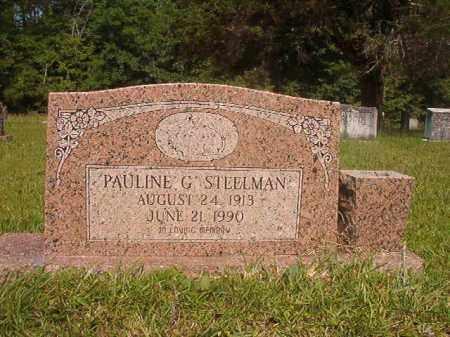 STEELMAN, PAULINE G - Calhoun County, Arkansas | PAULINE G STEELMAN - Arkansas Gravestone Photos