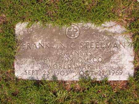 STEELMAN (VETERAN WWII), FRANKLIN C - Calhoun County, Arkansas | FRANKLIN C STEELMAN (VETERAN WWII) - Arkansas Gravestone Photos